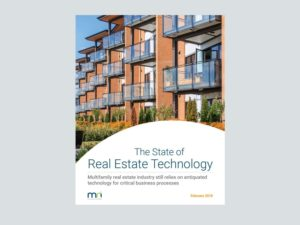 Report: The State of Multifamily Real Estate Technology